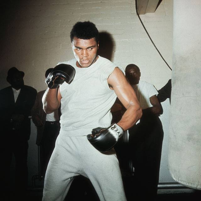 """150128 - """"Impossible is potential. Impossible is temporary. Impossible is nothing."""" ~ Muhammad Ali"""