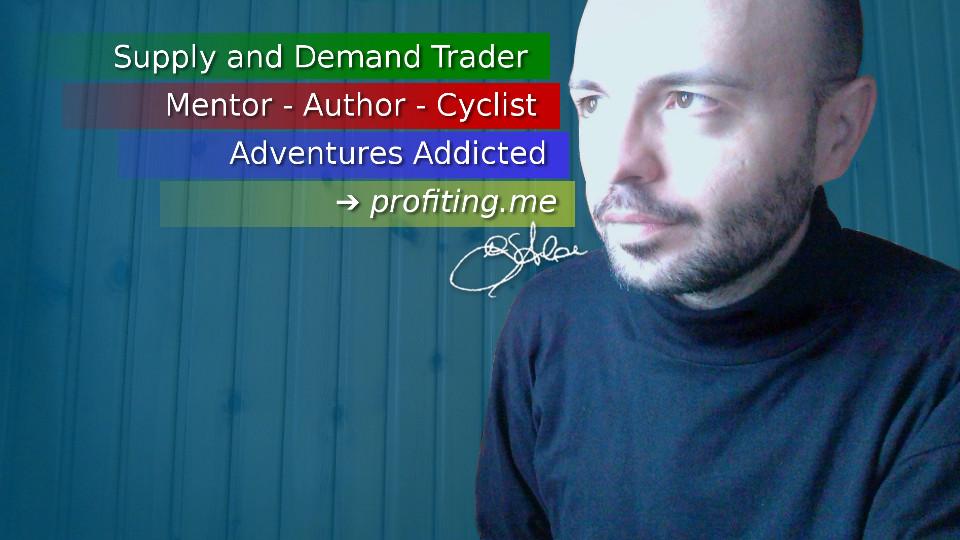 Girolamo Aloe - Supply and Demand Trading Mentor. Author. Cyclist. Adventures Addicted.