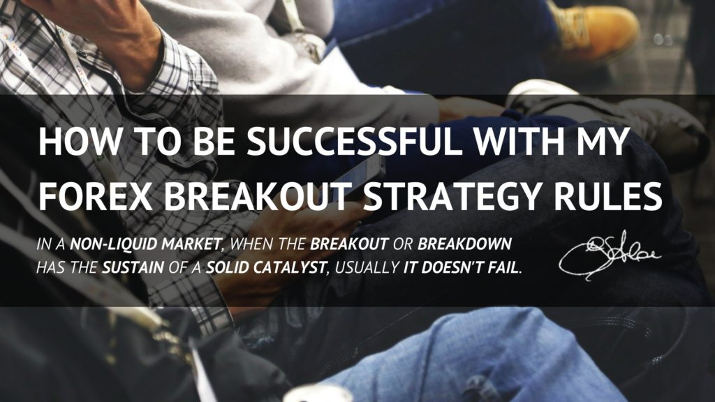 How to be Successful with my Forex Breakout Strategy Rules