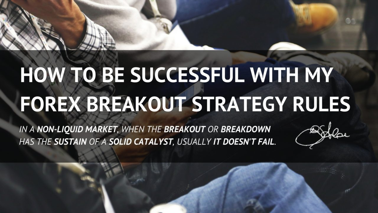 Forex breakout strategy